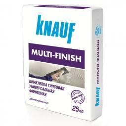 Шпатлевка Knauf Мультифиниш гипсовая 25 кг