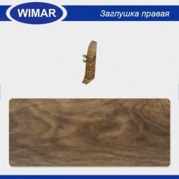 Заглушка торцевая правая Wimar 805 Дуб Гранд
