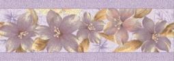 Бордюр Нефрит-керамика Каприз 05-01-1-93-03-51-232-0 25x9 Сиреневый