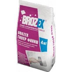 Шпатлевка Brozex Гипер-Финиш гипсовая 4 кг