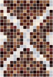 Плитка для стен Керамин Гламур 3 тип 1 Коричневый 40x27,5