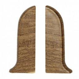 Заглушка торцевая левая и правая (блистер 2 шт.) Salag Дуб Польский 56