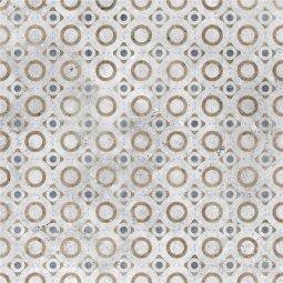 Плитка для пола Керамин Калейдоскоп 7Д серая 40x40