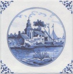 Декор Kerama Marazzi Английский Делфт Вилла 5222\3F 20х20