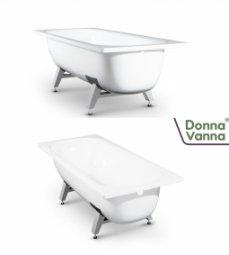 Ванна ВИЗ Donna Vanna стальная c опорной подставкой 170x70x40