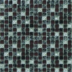Мозаика Elada Crystal HK-26 черно-вишневый микс 32.7x32.7
