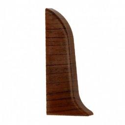 Заглушка торцевая левая (блистер 2 шт.) Elsi DIY 58 мм 639 Орех Перуанский