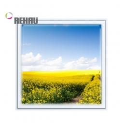 Окно ПВХ Rehau 600х600 мм одностворчатое Г 2 стеклопакет