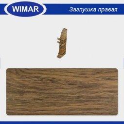 Заглушка торцевая правая Wimar 806 Дуб Скальный