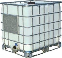 Еврокуб Тара на металлическом поддоне 1000 литров