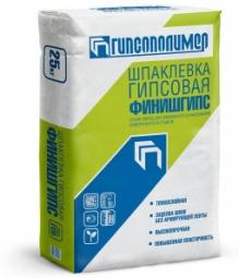 Шпатлевка Гипсополимер Финишгипс гипсовая 25 кг
