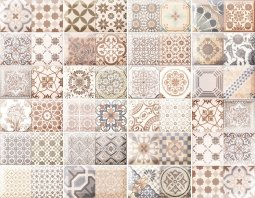 Плитка для пола Monopole Ceramica Pav. Antique Marron бежевый 10х20