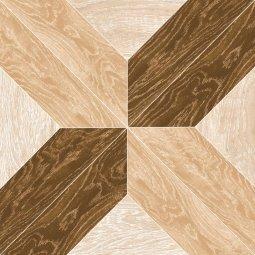 Керамогранит Grasaro Parquet art Бежево-коричневый G-503/S 400x400
