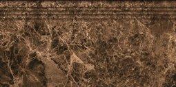 Ступени Kerranova Eterna полированный коричневый 29.4x60