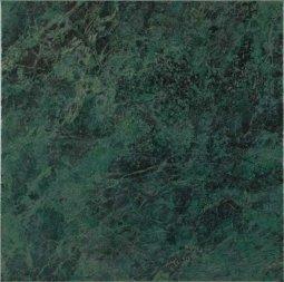 Плитка для пола Шаxтинская Плитка Каменный Цветок Зеленый 33x33