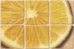 Декор Cersanit Coctail C-CT2K154 Жёлтый 20X30