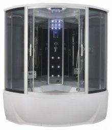 Душевая кабина Erlit Comfort ER4350T-EXC2 1500х1500х2250 мм тонированное стекло