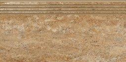 Ступени Kerranova Terra полированный коричневый 29.4x60