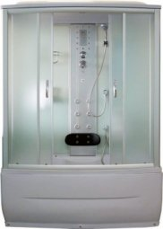 Кабина душевая Aquapulse 7807 1500х850х2200 мм Fabric white