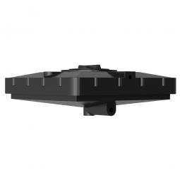 Бак для душа Aquatec 240 Черный 1100x1100x380
