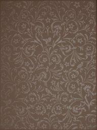 Плитка для стен Сокол Райский сад RAY6 коричневая полуматовая 33х44