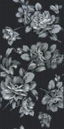 Декор Нефрит-керамика Аллегро 04-01-1-08-03-04-100-1 40x20 Чёрный
