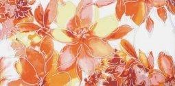 Декор Lasselsberger Нега 3 оранжевый 19,8х39,8