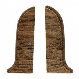eЗаглушка торцевая левая и правая (блистер 2 шт.) Salag Дуб Старый 56