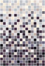 Плитка для стен Керамин Гламур 4С микс Сиреневый 40x27,5