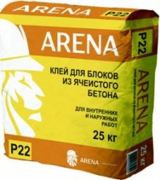 Клей Arena P22 для блоков 25 кг