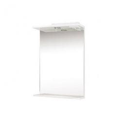 Зеркало Onika Коралл 55.01 белое со светильником
