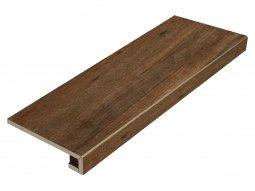 Ступень фронтальная Italon NL-Wood Пэппер 33x90 натуральная