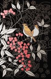 Декор Kerama Marazzi Ветка Сакуры декоры Цветы и птицы A1729\8141 20х30