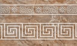 Бордюр Нефрит-керамика Гермес 13-01-1-25-43-15-100-1 25x15 Коричневый