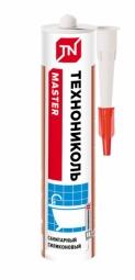 Герметик Технониколь силиконовый санитарный бесцветный 280 мл