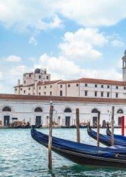 Декор Береза-керамика Азалия Венеция 3 синий 25x35