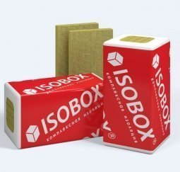 Базальтовый утеплитель ISOBOX Вент 1200х600х100  /3 пл.