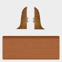 Заглушка торцевая левая и правая (блистер 2 шт.) Т-пласт 037 Бук Премиум