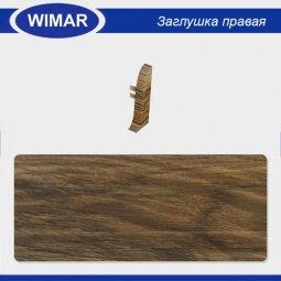 Заглушка торцевая правая Wimar 804 Дуб Викторианский