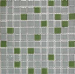 Растяжка Bonаparte Jump Green №8 (light) зеленая глянцевая 30x30