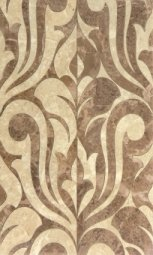 Декор Cracia Ceramica Saloni Brown Decor 01 30x50