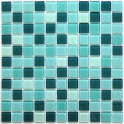 Мозаика Bonаparte Maldives бирюзовая глянцевая 30x30