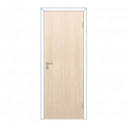 Дверное полотно Olovi глухое Беленый Дуб 600х2000 с замком 2014