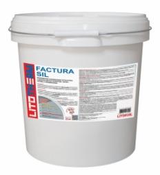 Штукатурка Litokol Litotherm Factura Sil Шуба декоративная акриловая 1,5 мм Белая