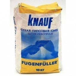 Шпатлевка Knauf Фугенфюллер гипсовая 10 кг