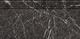 Ступени Kerranova Black&White полированный черный 29.4x60