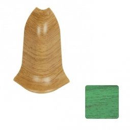 Наружный угол (блистер 2 шт.) Elsi DIY 58 мм 623 Зеленый