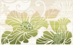 Декор Нефрит-керамика Кензо 04-01-1-09-03-85-075-1 40x25 Зелёный