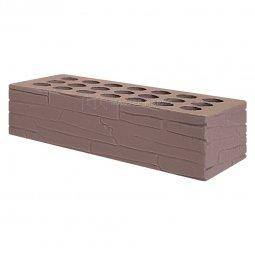 Кирпич лицевой керамический «Шоколад» «Плитняк» пустотелый одинарный
