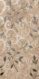 Вставка Golden Tile Сирокко темно-бежевый М31341 300х600